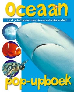 Oceaan pop-up boek